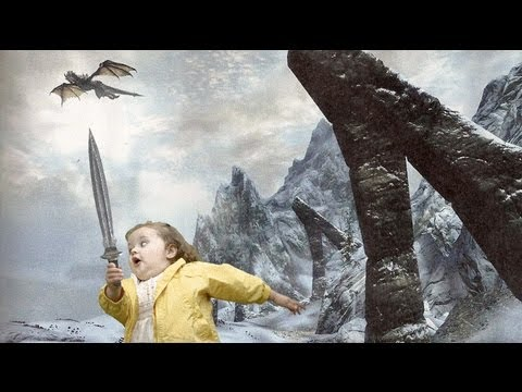 Let's Play Skyrim Dragonborn ! #12 ALT F4