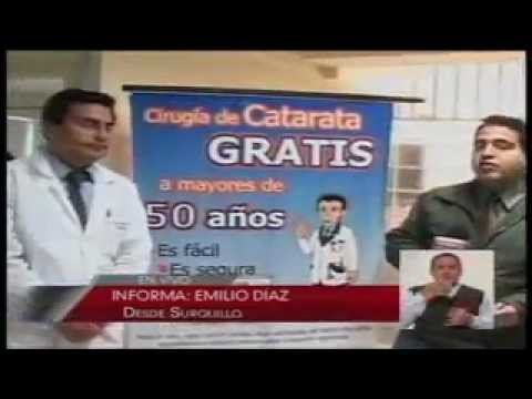 Operaciones gratuitas de cataratas en el Hospital de la Solidaridad de Surquillo 11-10-12