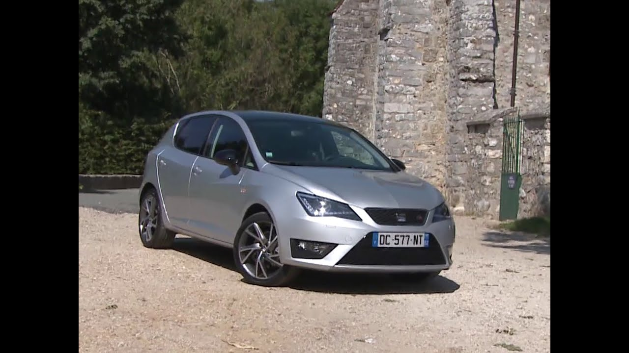 essai seat ibiza 1 4 tsi act fr 2014 youtube. Black Bedroom Furniture Sets. Home Design Ideas