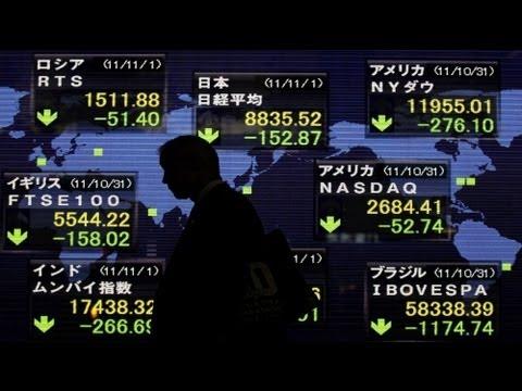 Europäische Börsen auf Talfahrt wegen Sorge um Griechenland? (01.10.2011)