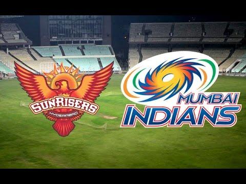 Mumbai Indians vs Sunrisers Hyderabad, IPL 2015 Match 23
