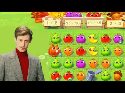 Farm Heroes Super Saga - Dale Daley explains Fidget's nut...mode