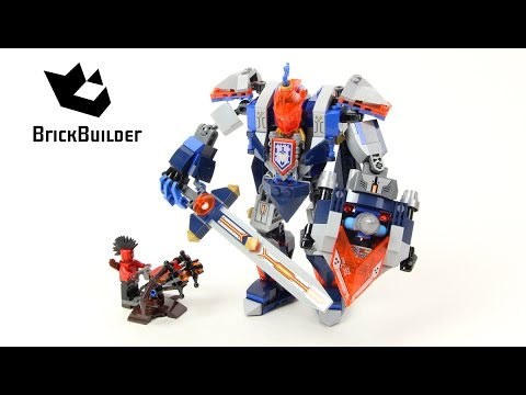 Lego Nexo Knights 70327 The King's Mech - Lego Speed Build