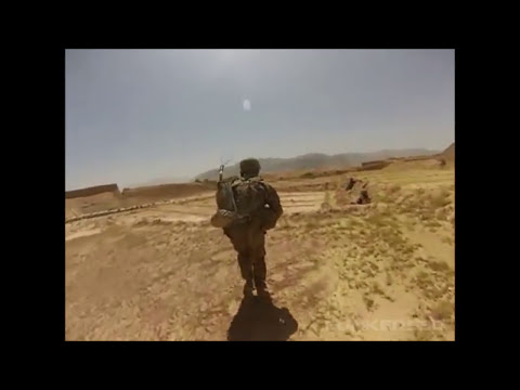 RPG Explodes Directly Over U.S. Soldier