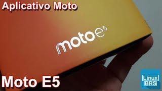 Motorola Moto E5 - Aplicativo Moto e seus recursos