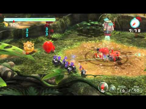 Pikmin 3 Trailer for Wii U at E3 2012