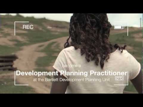 Reasons to become a Development Planning Practitioner