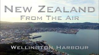 New Zealand From The Air: Wellington Harbour
