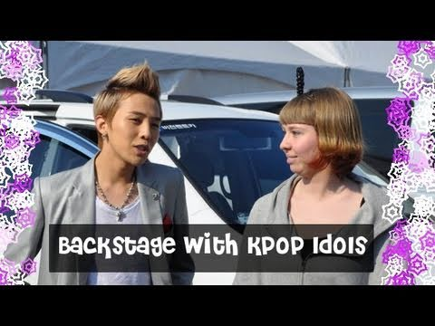 Backstage with Kpop Idols at Inkigayo Music Videos