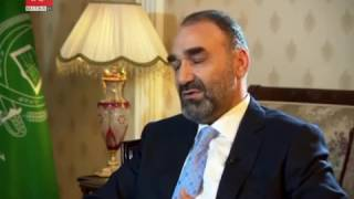 Interview with Atta Mohammad Noor on bbc farsi