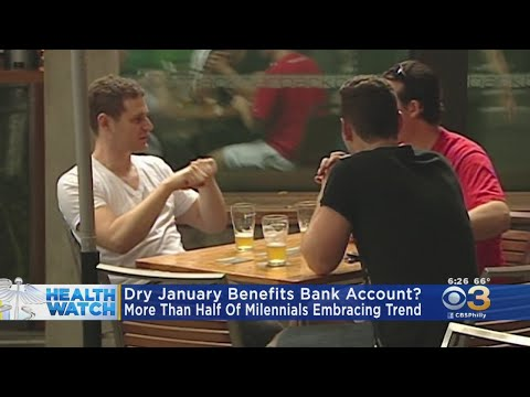 Giving Up Alcohol During Month Of January Improves Health But Also Helps Bank Account