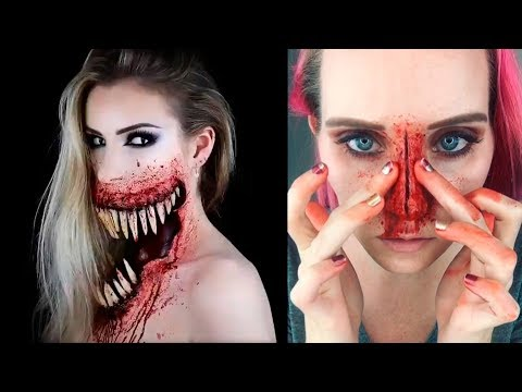 ✦Special Effects Makeup Transformations | Halloween Makeup Tutorials 2017
