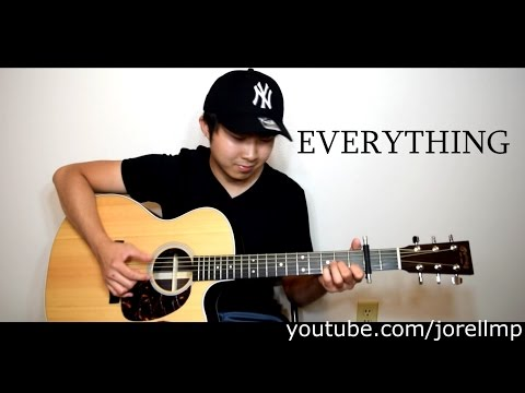 Michael Bublé - Everything (Fingerstyle cover by Jorell) INSTRUMENTAL | KARAOKE