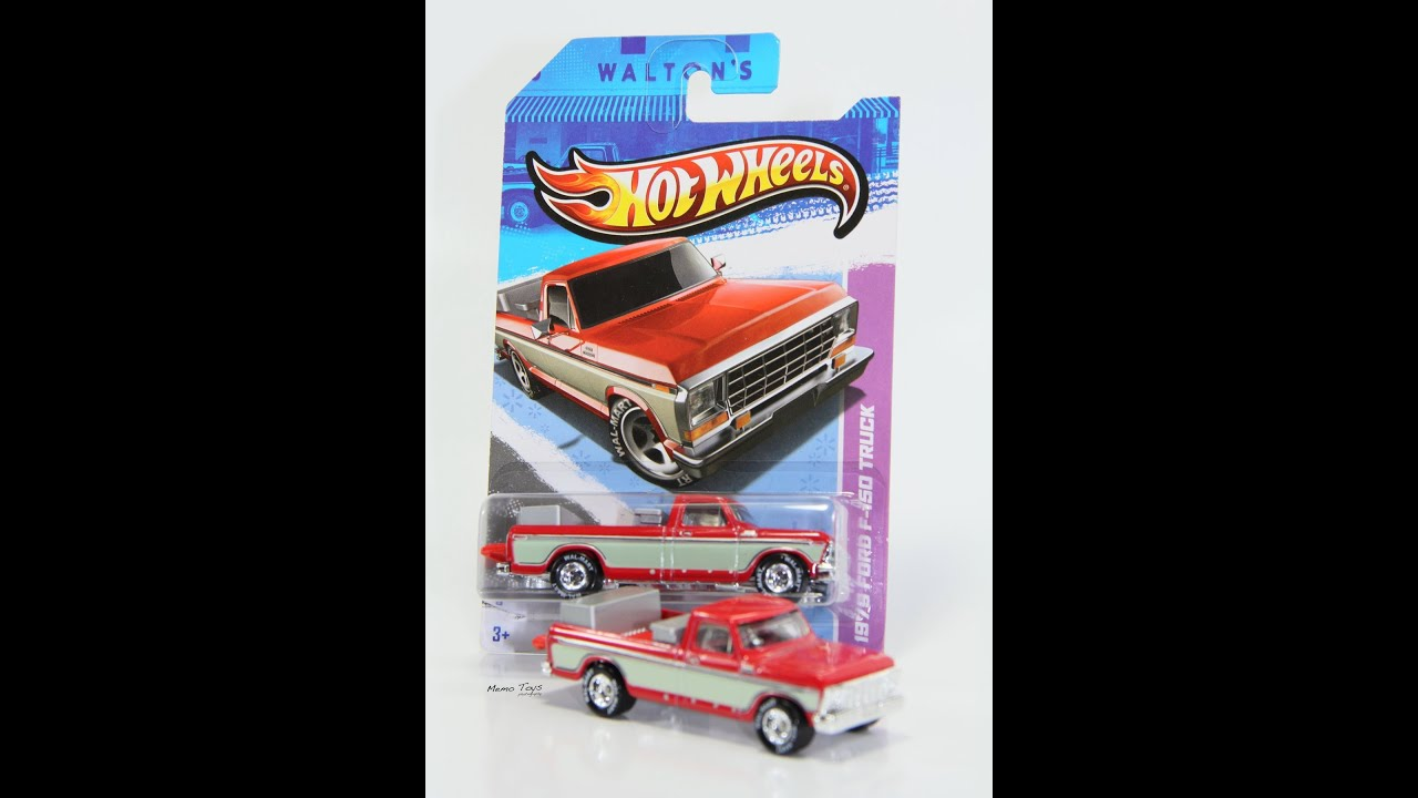 Hot Wheels Walmart exclusive Ford F150 Sam Walton's review. - YouTube