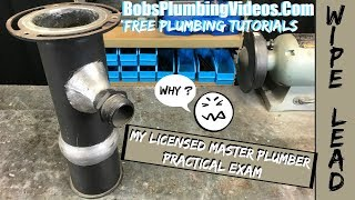 Licensed Master Plumber / Practical Test