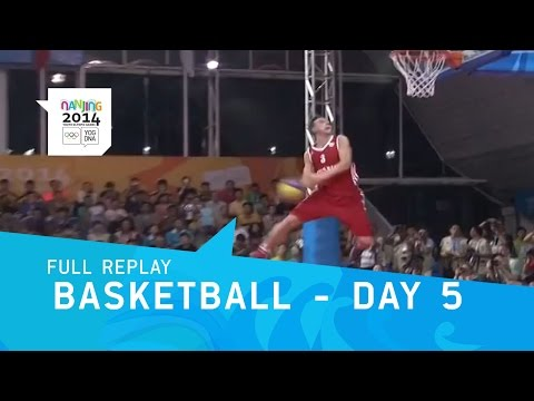 Basketball - Skills Challenge Day 5 | Full Replay | Nanjing 2014 Youth Olympic Games