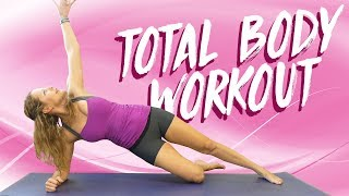 Get Fit with Dena ♥ Total Body Workout | Beginners, Sculpt & Tone, Core, Butt, HIIT at Home