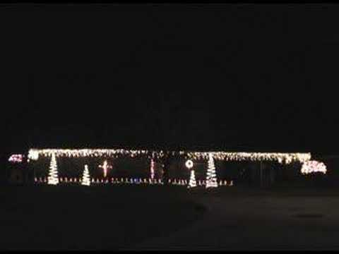 Have Yourself a Merry Little Christmas - Synchronized Lights