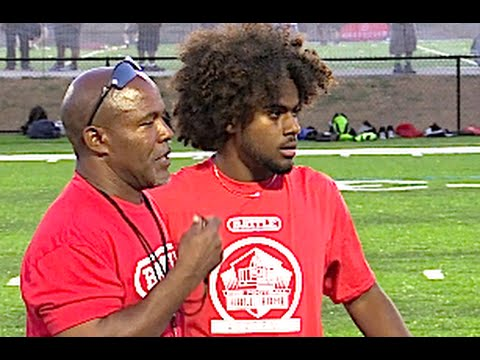 Bookie Radley-Hiles '18 : Calabasas (CA) Pro Football Hall of Fame Academy 2016
