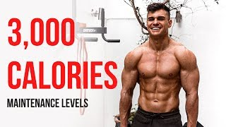 Rob Lipsett | Full Day Of Eating And Training | 3,000 Calories