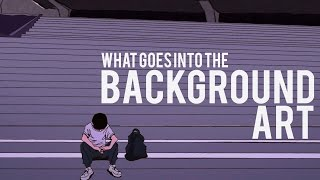 What Goes into the Background Art (in Anime)?