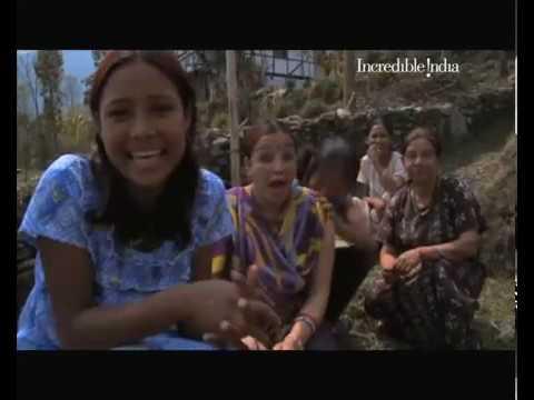 Sikkim - family enjoying moment