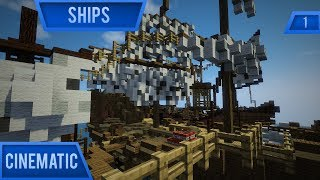 Minecraft Ships Map - Cinematic