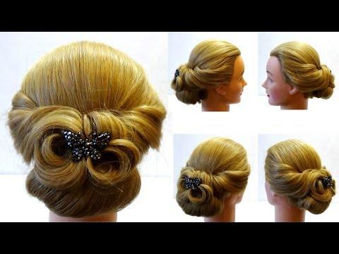 Прическа на выпускной. Как сделать прическу своими руками. How to make prom hairstyle