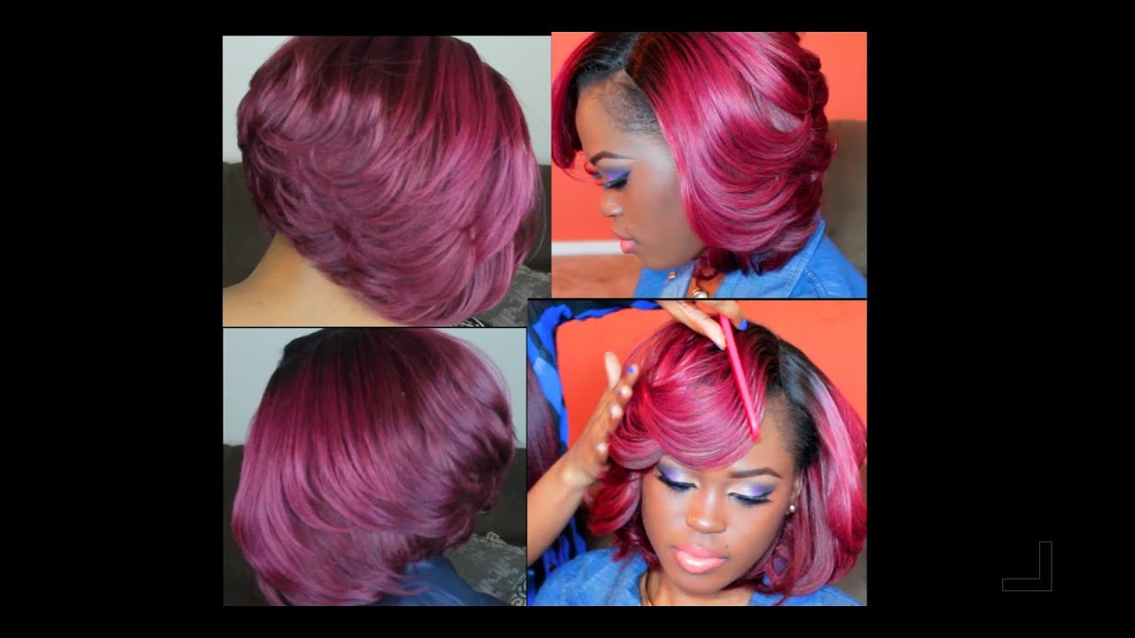 The Perfect Bob! Cut & Styled By Jazzyjujubee82 - YouTube