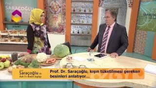 PROF.DR.İBRAHİM SARAÇOĞLU KIŞIN TÜKETİLMESİ GEREKEN BESİNLERİ ANLATIYOR BÖLÜM-2