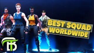 BEST SQUAD WORLDWIDE (Fortnite Battle Royale)