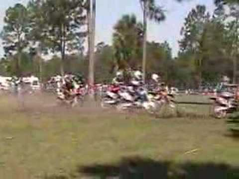 Bunnell Hare scramble FTR (Florida Trail Rider) Sunday race