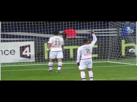 PSG vs Lyon : (1 0) But de Rabiot après une partie de billard! 13/01