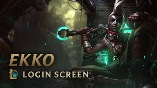 Ekko, the Boy Who Shattered Time | Login Screen - League of Legends