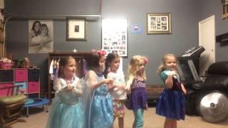 "Audrey & Friends Dance to ""Best Friends"""