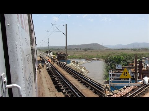 EMU Train Skips Vaitarna Rail Bridge first time with Increased Speed..!!