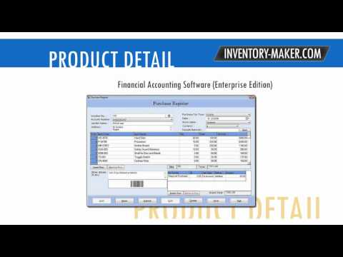 www.inventory-maker.com inventory maker PO software payroll barcode how to issue billing employee