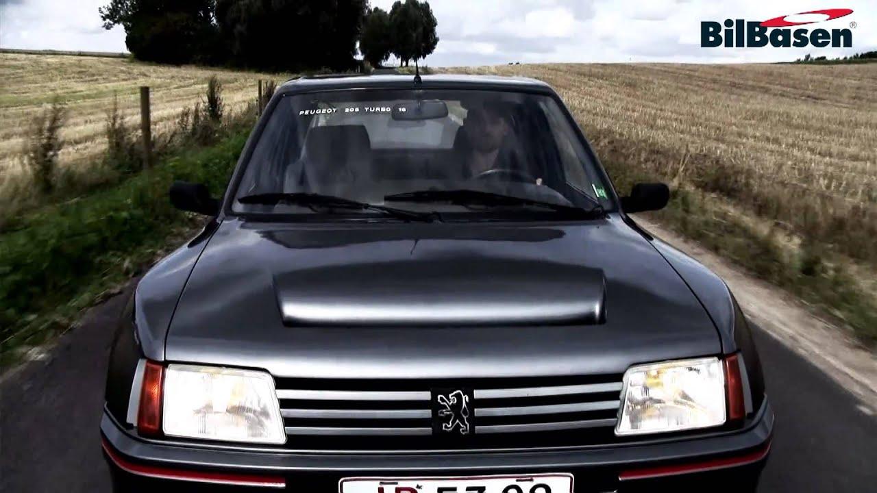Bil Tv Peugeot 205 T16 Youtube