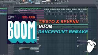 download lagu Tiësto & Sevenn - Boom Fl Studio Remake + gratis