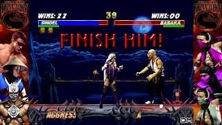 Mortal Kombat Trilogy All Fatalities N64