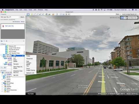 Google Earth Tutorials--Create a Placemark