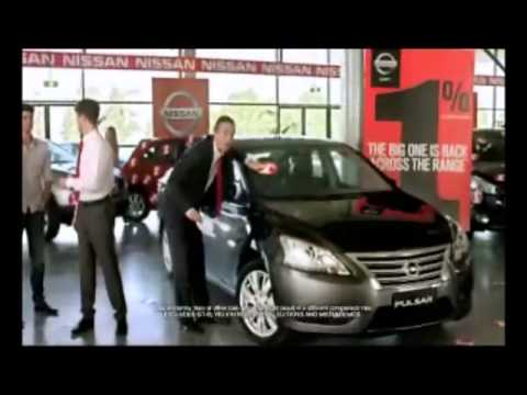 Nissan - 1% Finance Offer