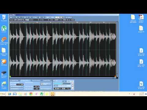 TUTORIAL MEMBUAT SAMPLING KONTAKT PART 06 loop BKnada