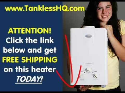 Portable Tankless Hot Water Heater: Tiny Home -  Off Grid - Cabin - RV - Camping Shower