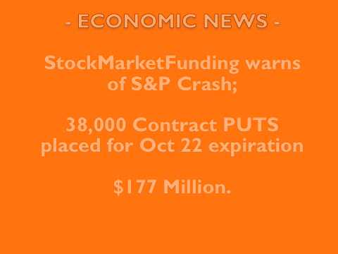 ECONOMIC: S&P CRASH WARNING!