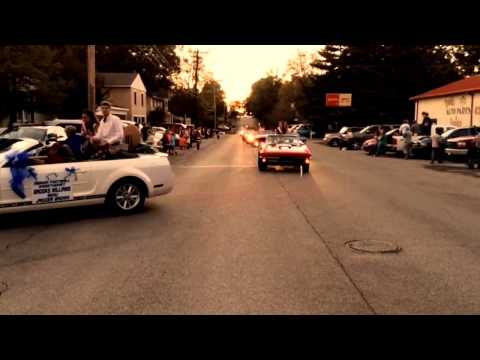 Tishomingo County High School Homecoming Parade 2014