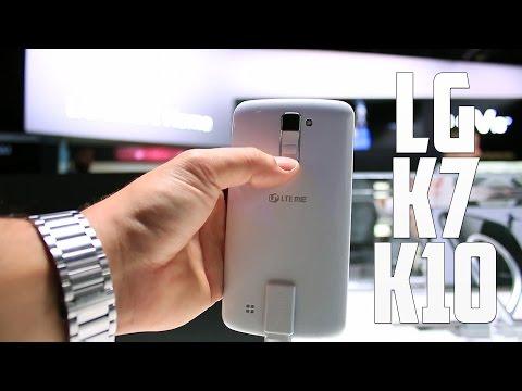 LG K7 y K10, primeras impresiones CES 2016
