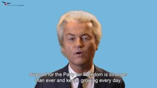 Reaction Geert Wilders to conviction