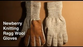 Newberry Knitting Ragg Wool Gloves