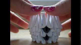 How To Make 3d Origami Snowmen (part 1)